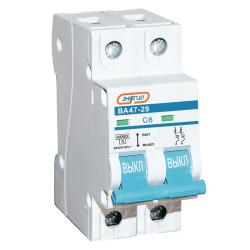 Автоматический выключатель Энергия ВА 47-29 2P 20A / Е0301-0092